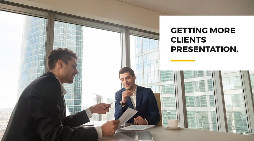 Getting More Clients Presentation